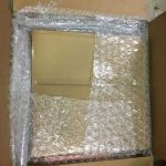 Shipping Reel-to-Reel More bubble wrap