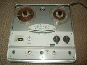 A typical mono tube tape recorder from the early 1960s